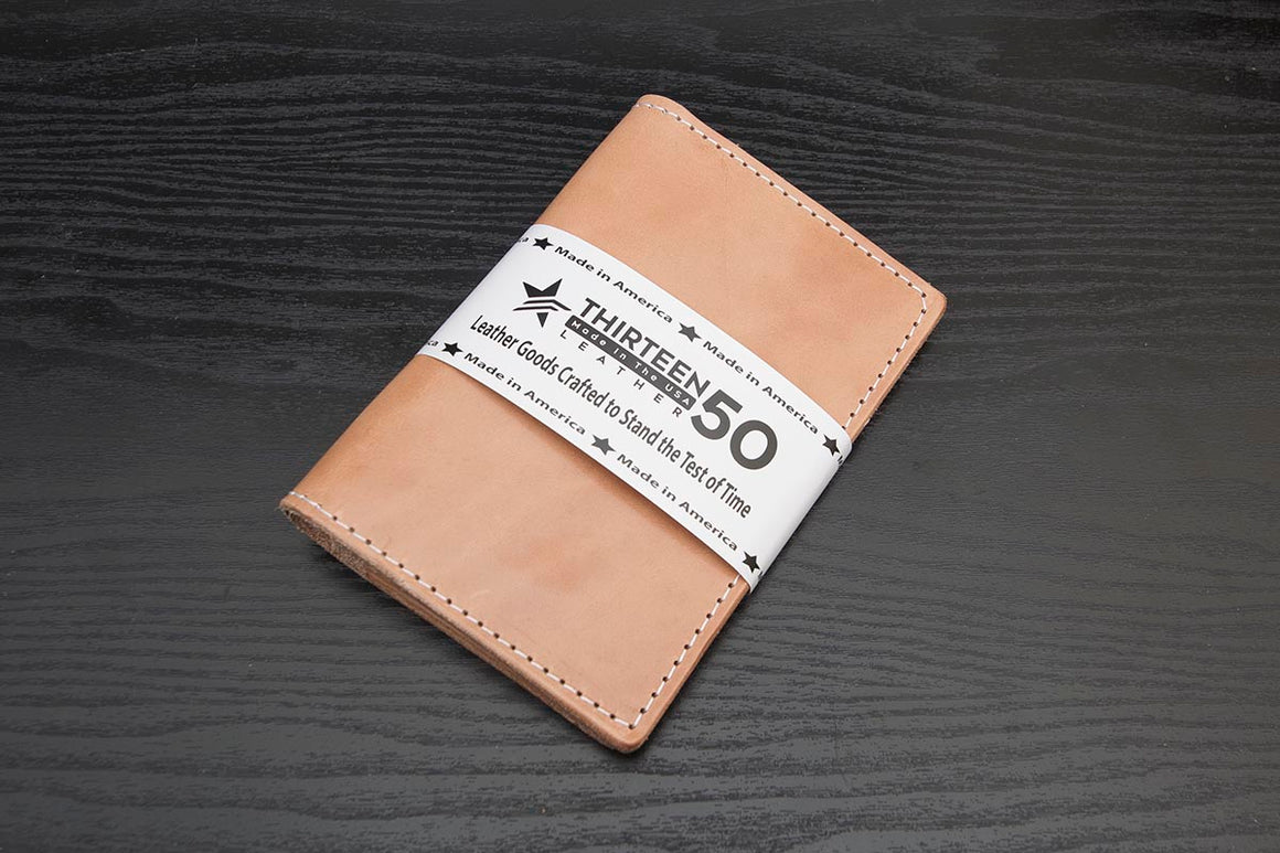 whiskey leather traveler wallet