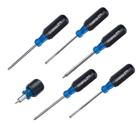 35-741 Electrician's Champion Screwdriver Set