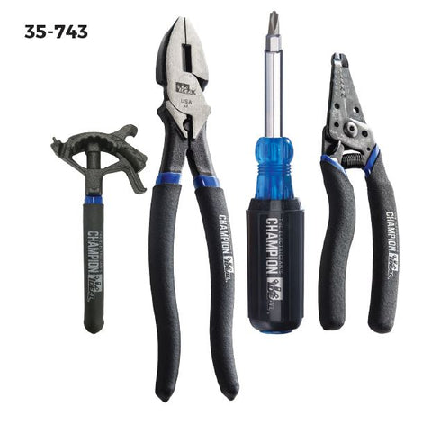 35-743 Electrician's Champion Plier Kit