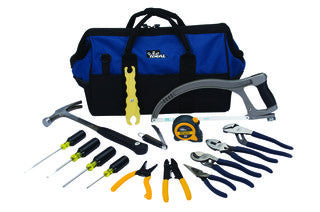 "35-808 Large Mouth Bag Tool Kit, 18"", 16-Piece"