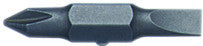 "35-941 10-in-1 Screwdriver Replacement Bit, 3/16"" Slotted - #1 Phillips"