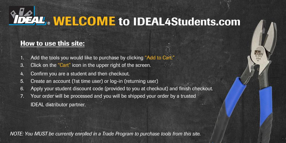 IDEAL4Students Instructions