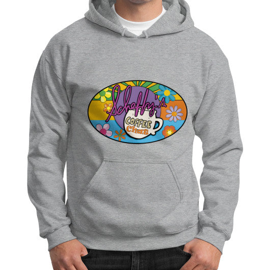 Gildan Hoodie (on man) Sport grey Scheffland Music Products
