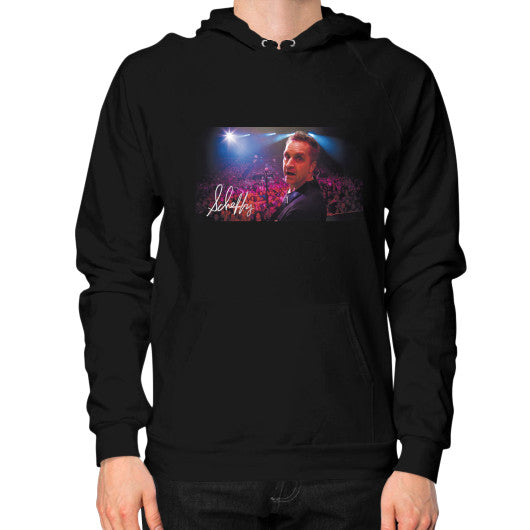 Hoodie (on man) Black Scheffland Music Products