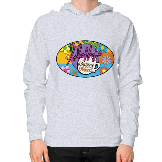 Hoodie (on man) Heather grey Scheffland Music Products