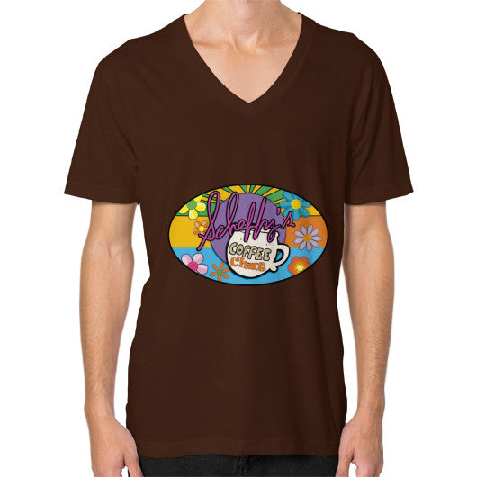 V-Neck (on man) Brown Scheffland Music Products