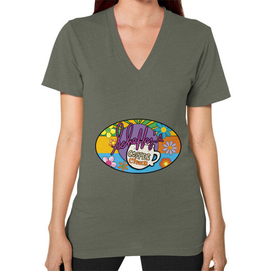 V-Neck (on woman) Lieutenant Scheffland Music Products
