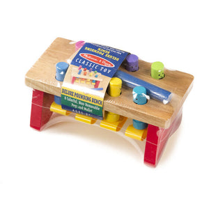 *NEW* Melissa & Doug - Deluxe Pounding Bench Toddler Toy - 4490