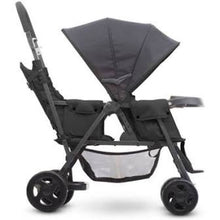 Load image into Gallery viewer, *NEW* Joovy Caboose Too Graphite Stand-On Tandem Stroller - Black