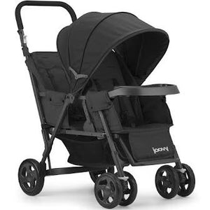*NEW* Joovy Caboose Too Graphite Stand-On Tandem Stroller - Black