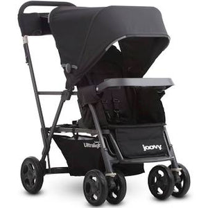*NEW* Joovy Caboose Ultralight Graphite Stroller - Black