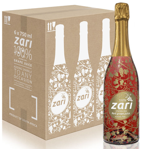 ZARI Sparkling Red Grape Juice  <i>Bubbly variant</i>