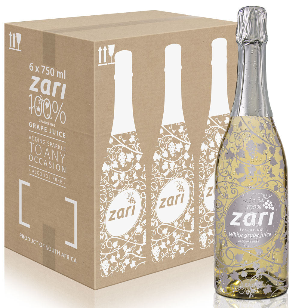 ZARI Sparkling White Grape Juice  <i>Bubbly variant</i>