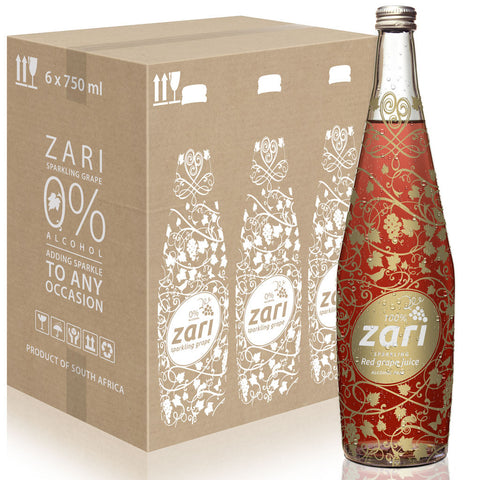 ZARI Sparkling Red Grape Juice <i>Lifestyle variant</i>