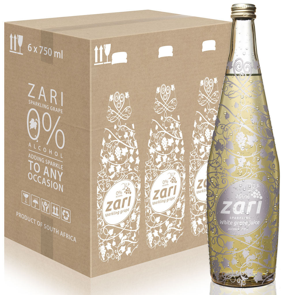ZARI Sparkling White Grape Juice <i>Lifestyle variant</i><br></br><strong>ALCOHOL FREE</strong>