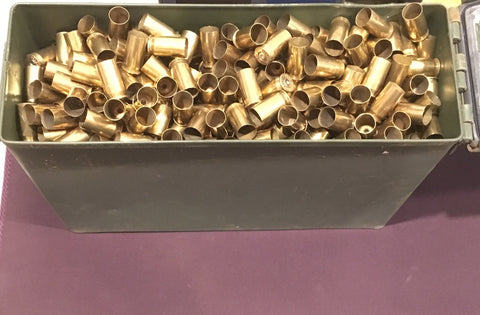 45acp brass + M19A1 Can -- Un-Processed (~850 ct)