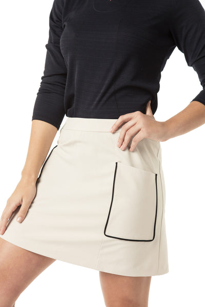 athletic skort with pockets