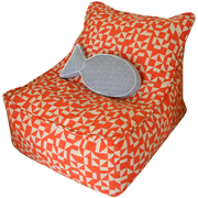 Orange Bean Bag Chair in Los Angeles