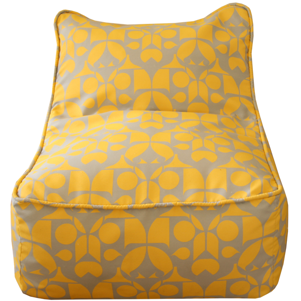 Saturday House Yellow Bean Bag Chair