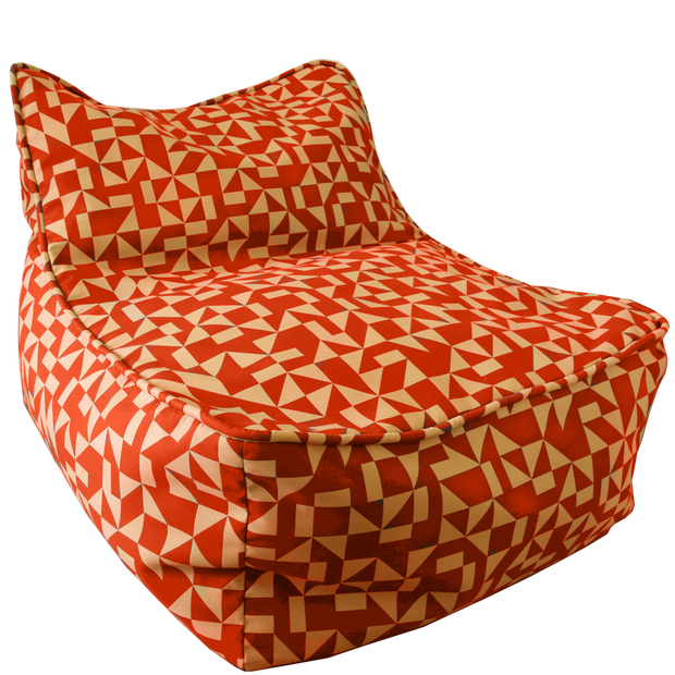 Orange Bean Bag Chair