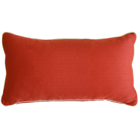 Saturday House Coral Lumbar Pillow