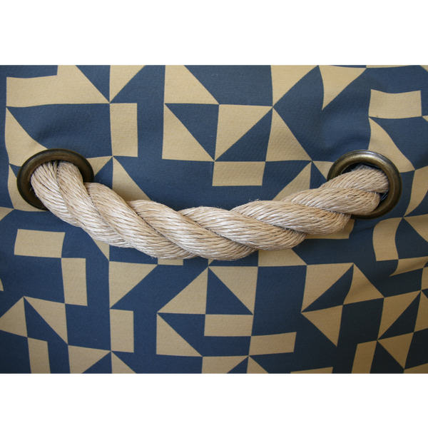 Outrigger Bean Bag Chair: Navy