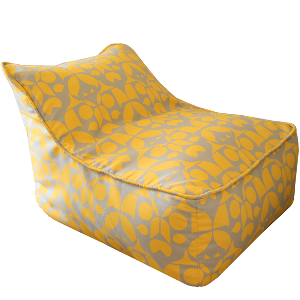 Satuday House Yellow Bean Bag Chair