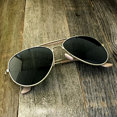 Stylish and Timeless, The Classic Outdoorsman Style Crossbar Metal Aviator Sunglasses - NikkiEyewear.com - 1