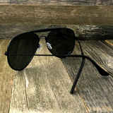 Stylish and Timeless, The Classic Outdoorsman Style Crossbar Metal Aviator Sunglasses - NikkiEyewear.com - 6
