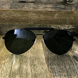 Stylish and Timeless, The Classic Outdoorsman Style Crossbar Metal Aviator Sunglasses - NikkiEyewear.com - 9