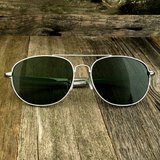 Classic Oval Sport Aviator Pilot with Glass Lens and  Paddle Temples Sunglasses - NikkiEyewear.com - 10