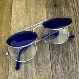 Vintage Steampunk Hippie Round Flip Up Tinted Color Lens Sunglasses - NikkiEyewear.com - 10