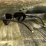 Steampunk Aviator Sunglasses with Embossed Intricate Details Side Shields - NikkiEyewear.com - 6