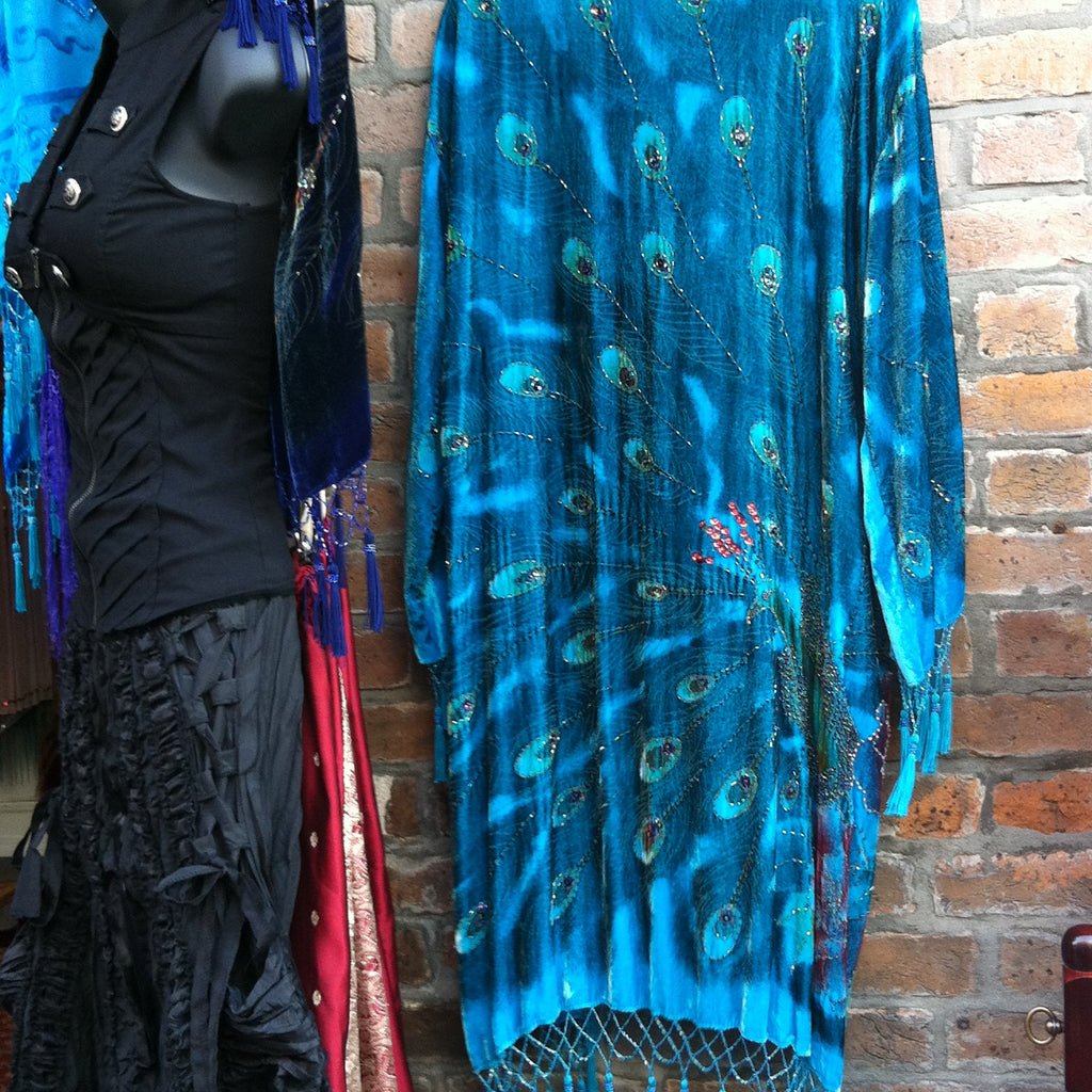 Beaded Peacock Jacket
