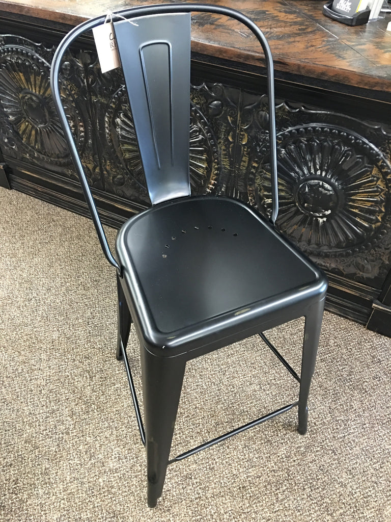 Black Bow Back Counter Chair - Niche Market Furniture