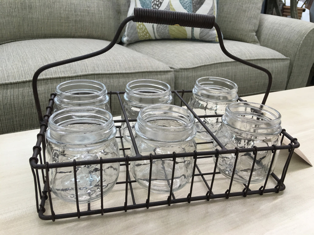 Half Pint Jar Organizer Tote - Niche Market Furniture
