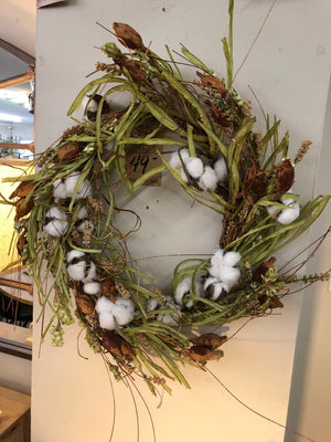Cotton Patch Wreath