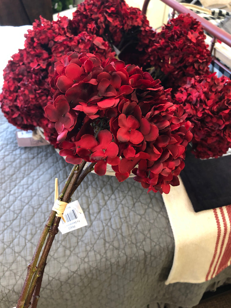 Tie Red Hydrangea Bundle