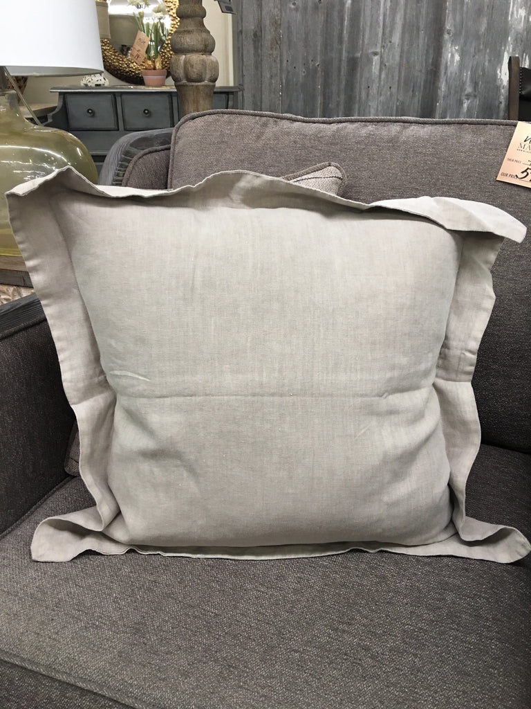 Natural Flanged Pillow