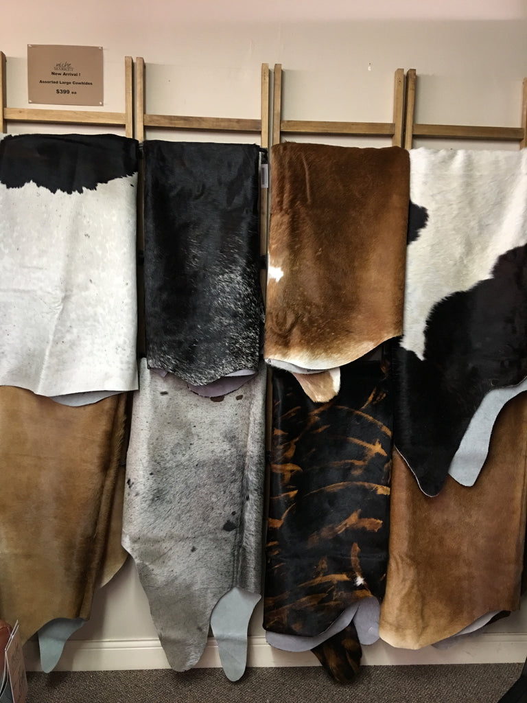 Large Cowhide Assorted
