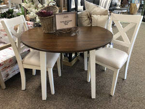 Thorton 3Pc Drop Leaf Table w/2 Chairs