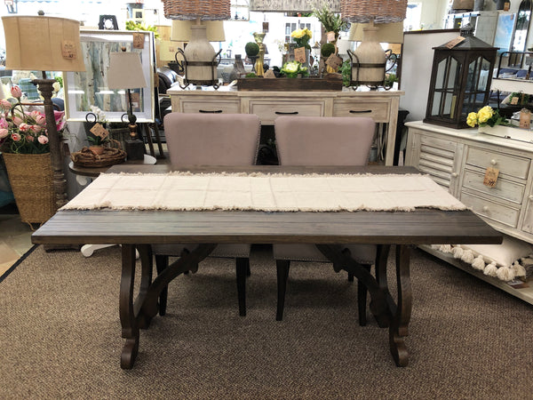 Orchard Park Brown Flip Top Console