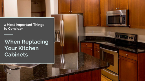 4 Most Important Things to Consider When Replacing Your Kitchen Cabinets [511 Words] - article > 500 - Article Blizzard