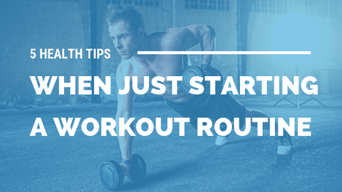 5 Health Tips When Just Starting A Workout Routine [530 Words] - article > 500 - Article Blizzard