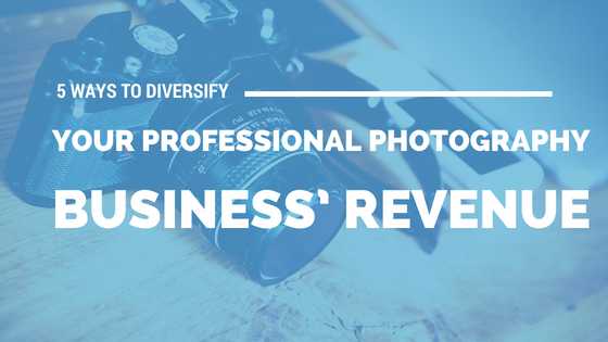 5 Ways to Diversify your Professional Photography Business' Revenue [555 Words] - article > 500 - Article Blizzard