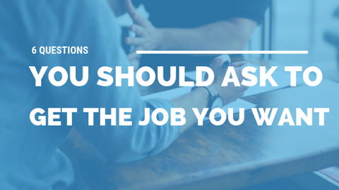 6 Questions YOU Should Ask to Get the Job You Want [534 Words] - article > 500 - Article Blizzard