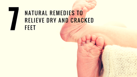 7 Natural Remedies to Relieve Dry and Cracked Feet [523 Words]