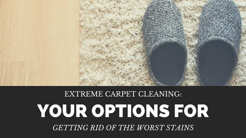 Extreme Carpet Cleaning: Your Options for Getting Rid of The Worst Stains [503 Words]