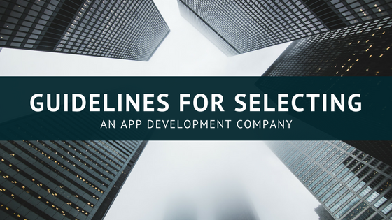 Guidelines for Selecting an App Development Company [614 Words] - article > 600 - Article Blizzard