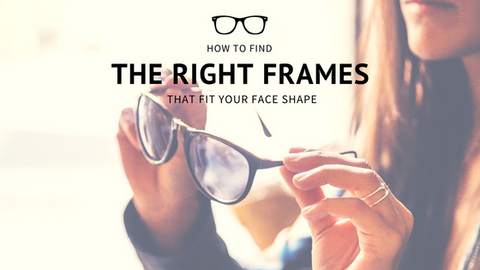 How to Find the Right Frames That Fit Your Face Shape [534 Words]